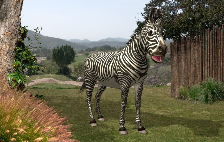 Robert The Talking Zebra